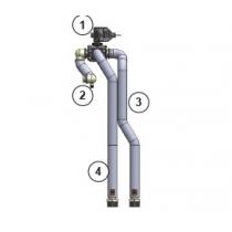 Sada s 3-cestným ventilem na zabudovaní CZ-NV1