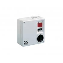 SCNRL 5  (5-stupňová regulace otáček, montáž na stěnu, tlačítko na zapnutí světla, max. Zátěž 250W)